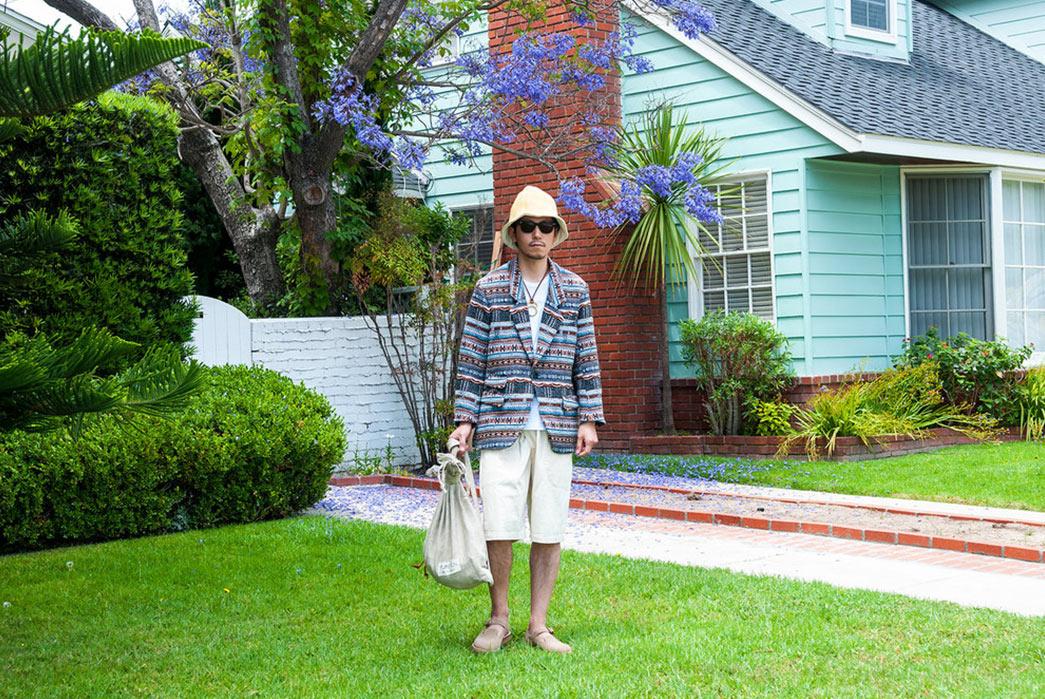 Monitaly-Spring-Summer-2017-Lookbook-male-short-white-pants
