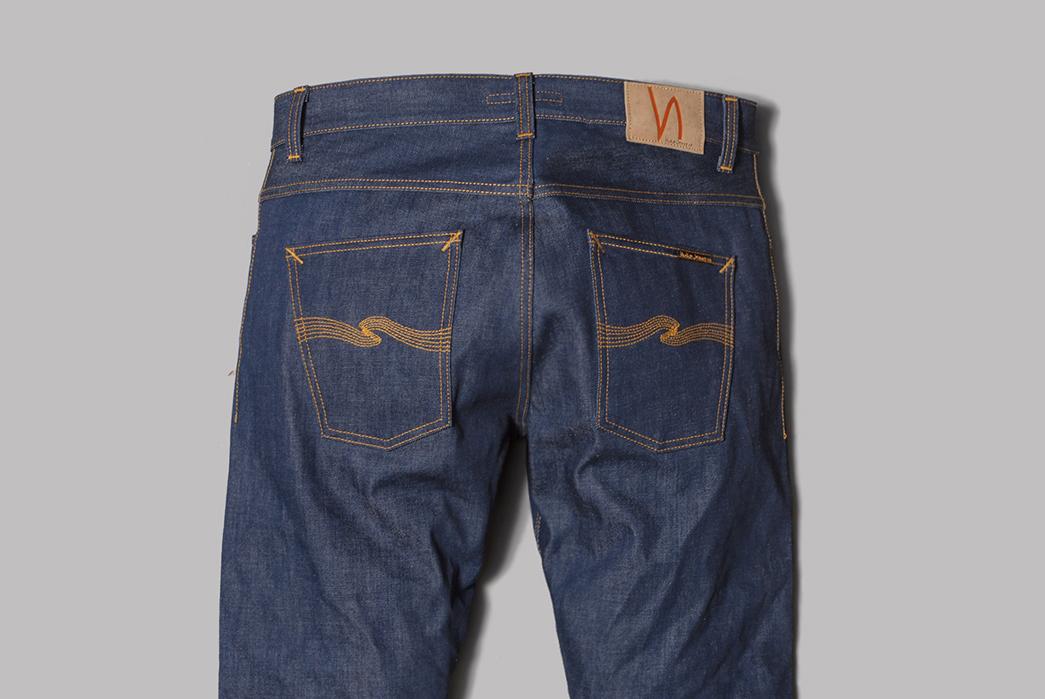 Nudie Jeans Co. Dude Dan Cone Mills 15.25oz. Cone Mills Natural Indigo Jeans