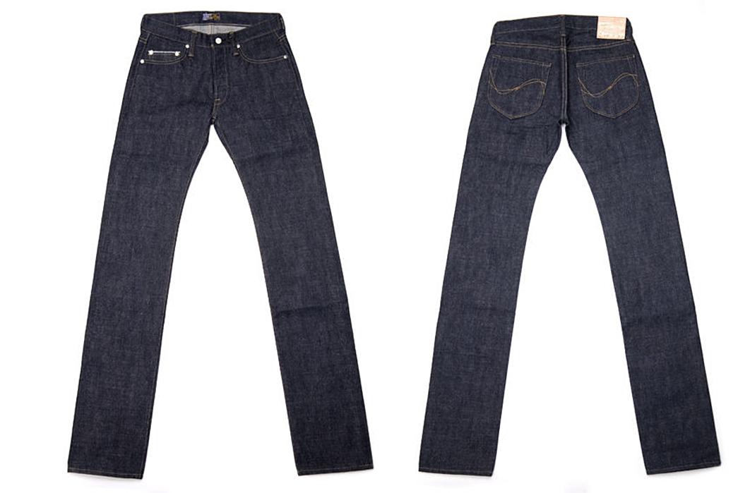 Samurai Jeans S003JP Yamato Selvedge Raw Denim Jeans