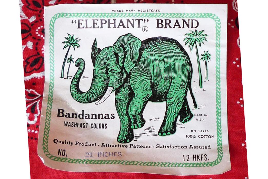 The-History-of-the-Bandana-David-&-Catterall-Elephant-Brand-Bandana-label.-Image-via-Waldfriend-Enstate