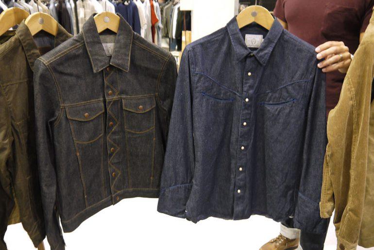 The CD2 Jacket (left) and Rambler Jacket.