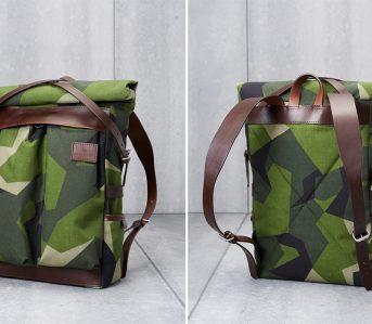 Atelier-de-L'Armee's-Flight-Pack-Uses-Deadstock-Swedish-M90-Camo-front-back