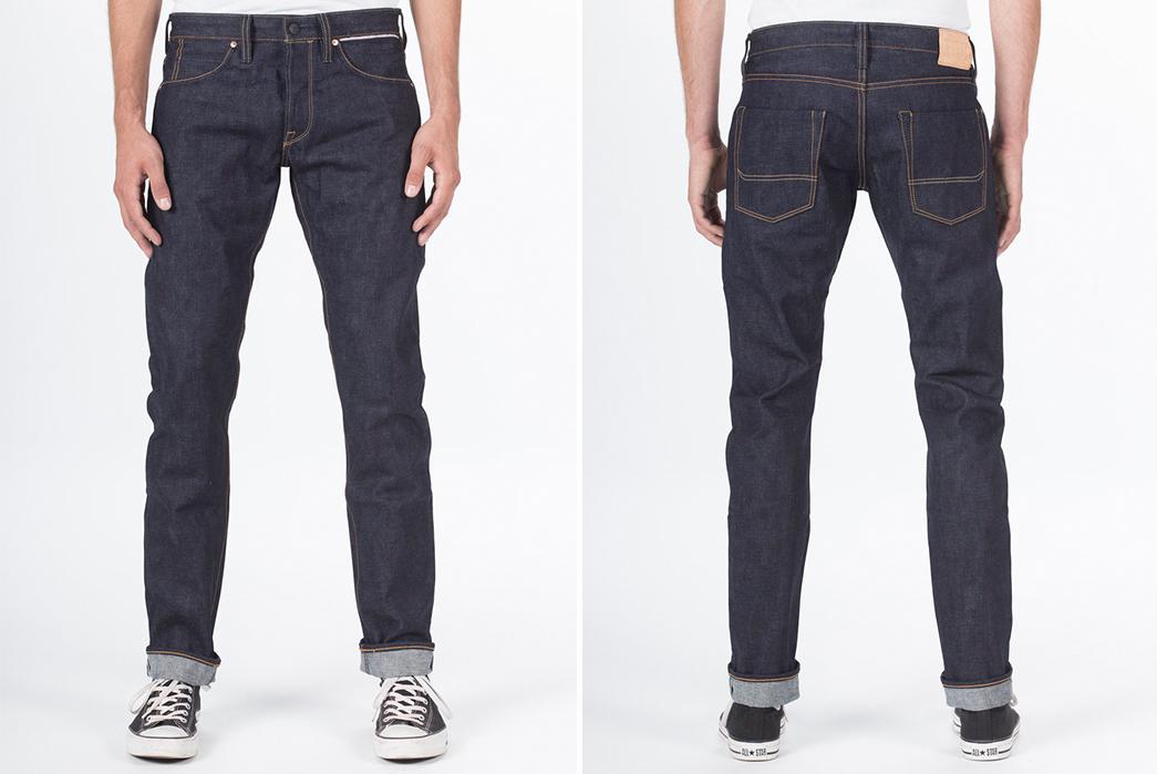 Benzak-Denim-Developers-BD-006-Deep-Indigo-Raw-Denim-Jeans-front-back