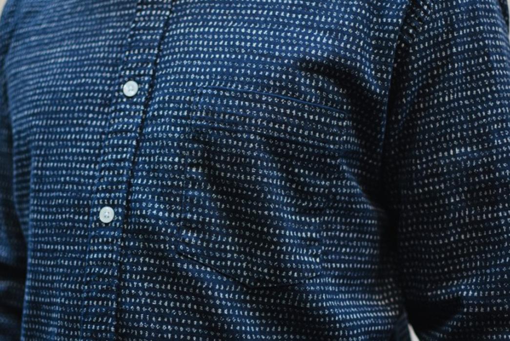 Corridor-NYC-Japanese-Dot-Shirt-front-detalied