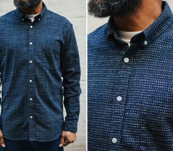 Corridor-NYC-Japanese-Dot-Shirt-two-fronts