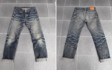 Fade-Friday---Samurai-S710XX-(1.5-Years,-1-Wash,-1-Soak)-front-back