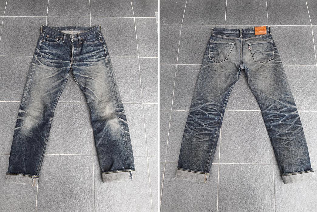 Fade-Friday---Samurai-S710XX-(1.5-Years,-1-Wash,-1-Soak)-front-back
