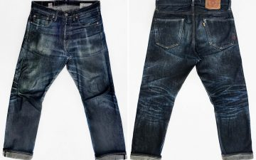 Fade-of-the-Day---Léon-Denim-1947-Memphis-(9-Months,-3-Washes,-1-Soak)-front-back