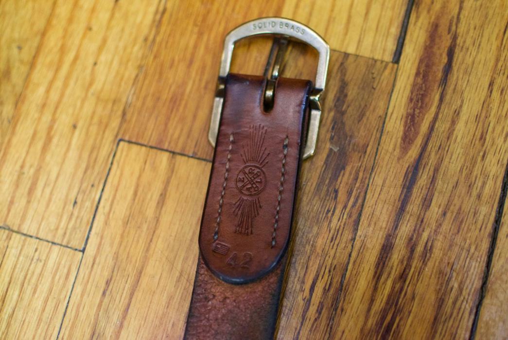 Fade-of-the-Day---W.H.-Earl-Walnut-Belt-(1.5-Years)-buckle-inside
