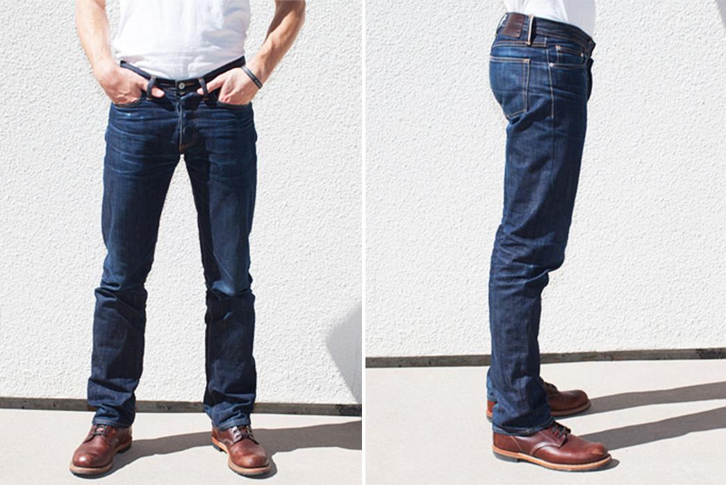 Gustin-#27-Heavy-American-Raw-Denim-Jeans-front-back