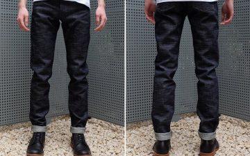 Japan-Blue-ODJB006-18oz.-Snow-Slub-Jeans-model-front-back