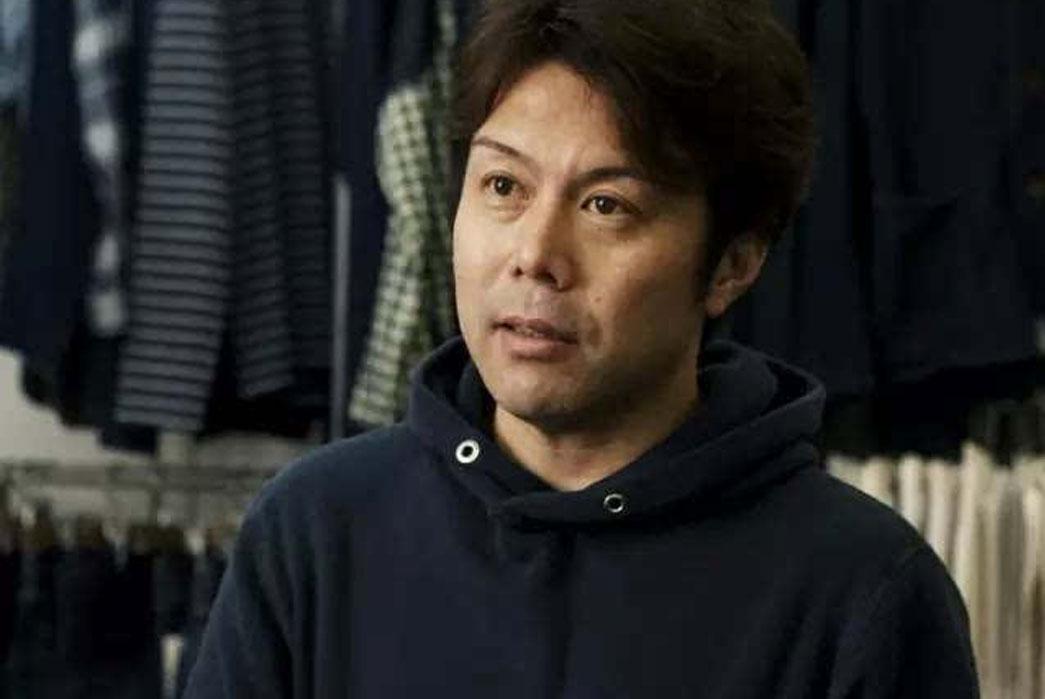Kenichi Iwaya of Pure Blue Japan. Image via M4CC.