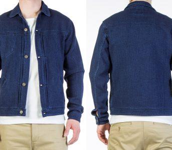 Livid-Jeans-Joshua-Japan-Indigo-Dobby-Jacket-model-front-back