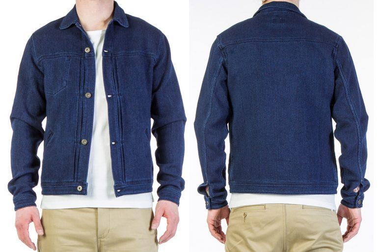 Livid-Jeans-Joshua-Japan-Indigo-Dobby-Jacket-model-front-back</a>