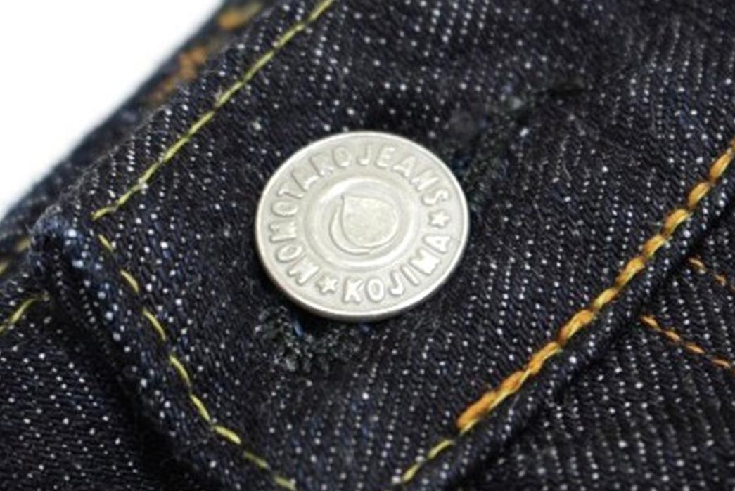 Momotaro-15.7oz.-GTB-Selvedge-Denim-Skirt-button