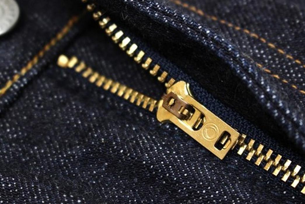 Momotaro-15.7oz.-GTB-Selvedge-Denim-Skirt-zipper