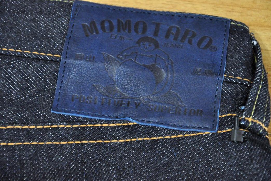 Momotaro-x-Corlection-18oz.-0301-18VSP-Selvedge-Jeans-back-patch