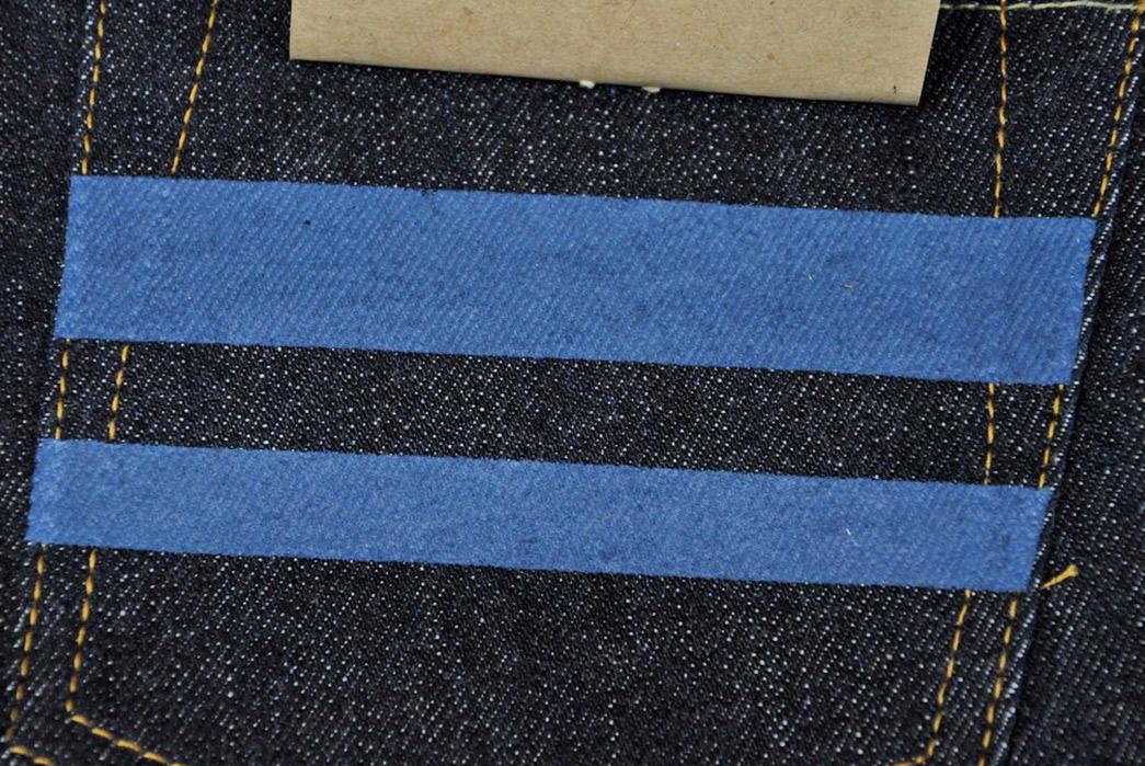 Momotaro-x-Corlection-18oz.-0301-18VSP-Selvedge-Jeans-back-pocket