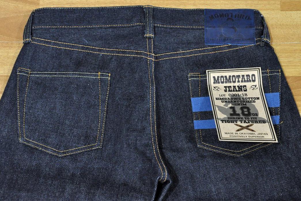Momotaro-x-Corlection-18oz.-0301-18VSP-Selvedge-Jeans-back-top