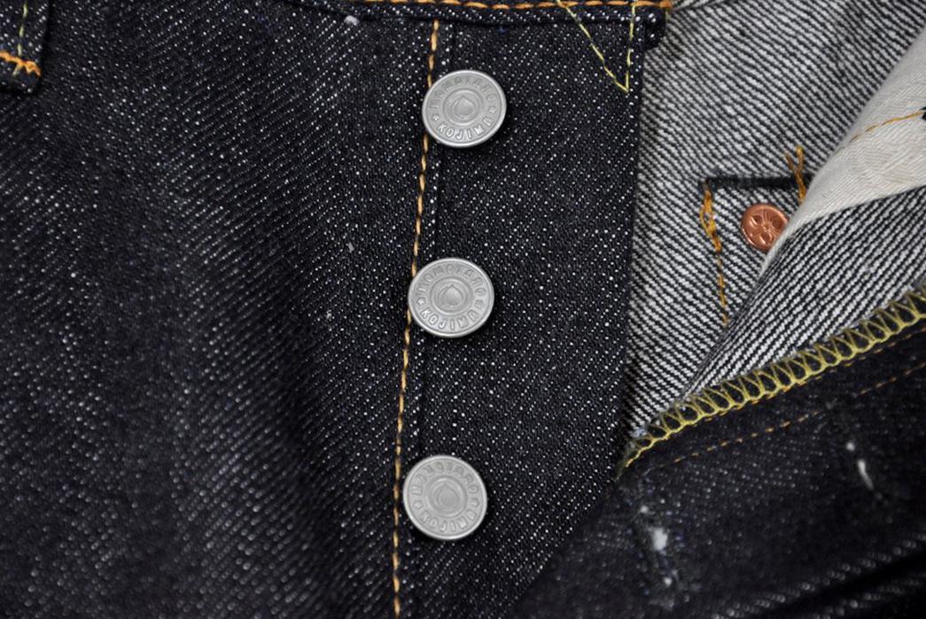 Momotaro-x-Corlection-18oz.-0301-18VSP-Selvedge-Jeans-front-buttons