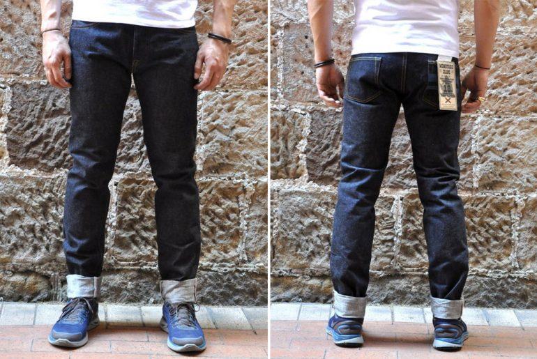 Momotaro-x-Corlection-18oz.-0301-18VSP-Selvedge-Jeans-model-front-back</a>
