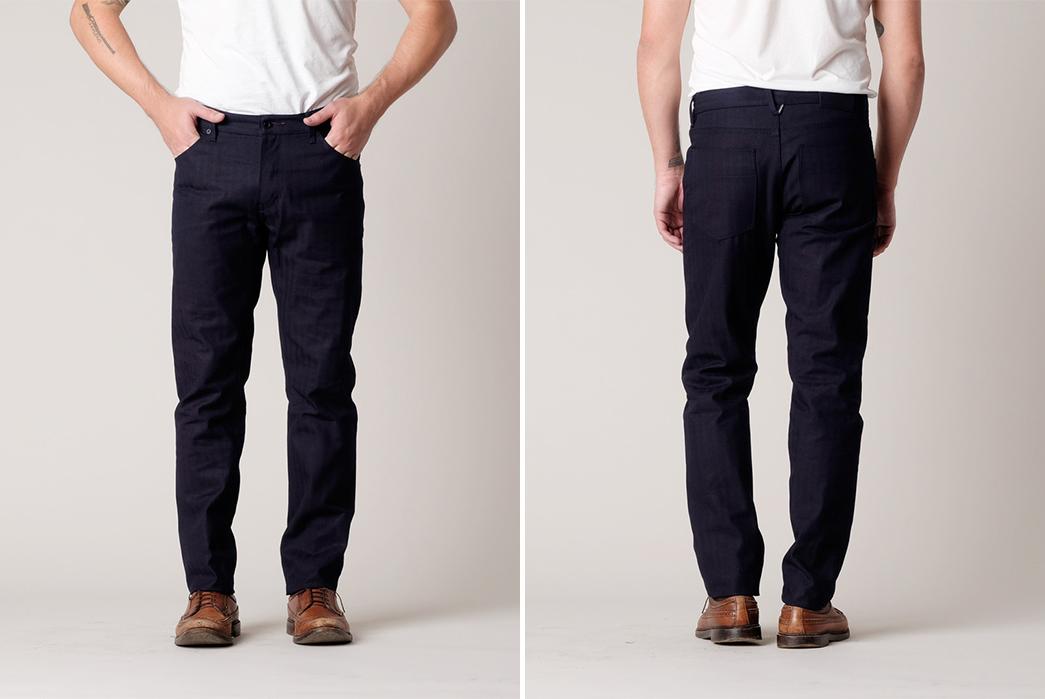 Raleigh-Denim-Martin-Thin-Chevron-Selvedge-Raw-Denim-Jeans-front-back