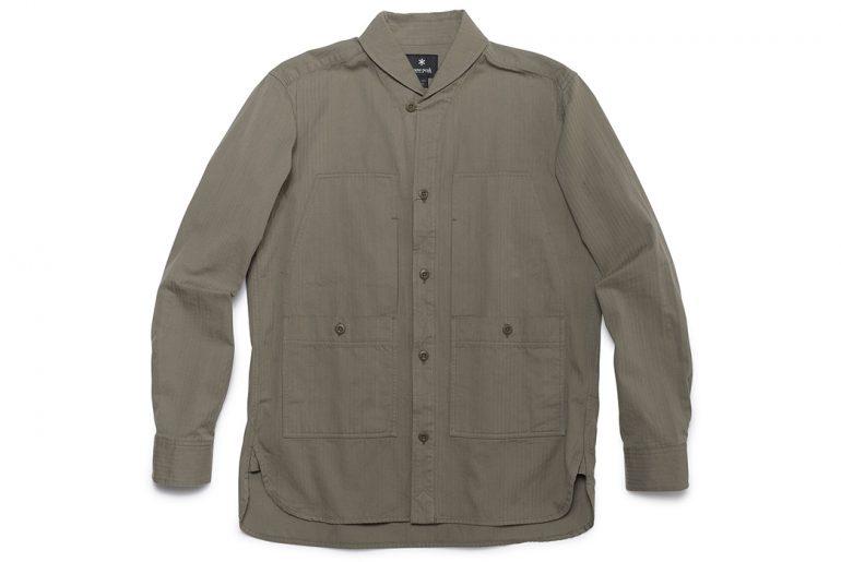 Snow-Peak-Herringbone-Field-Shirt-front</a>