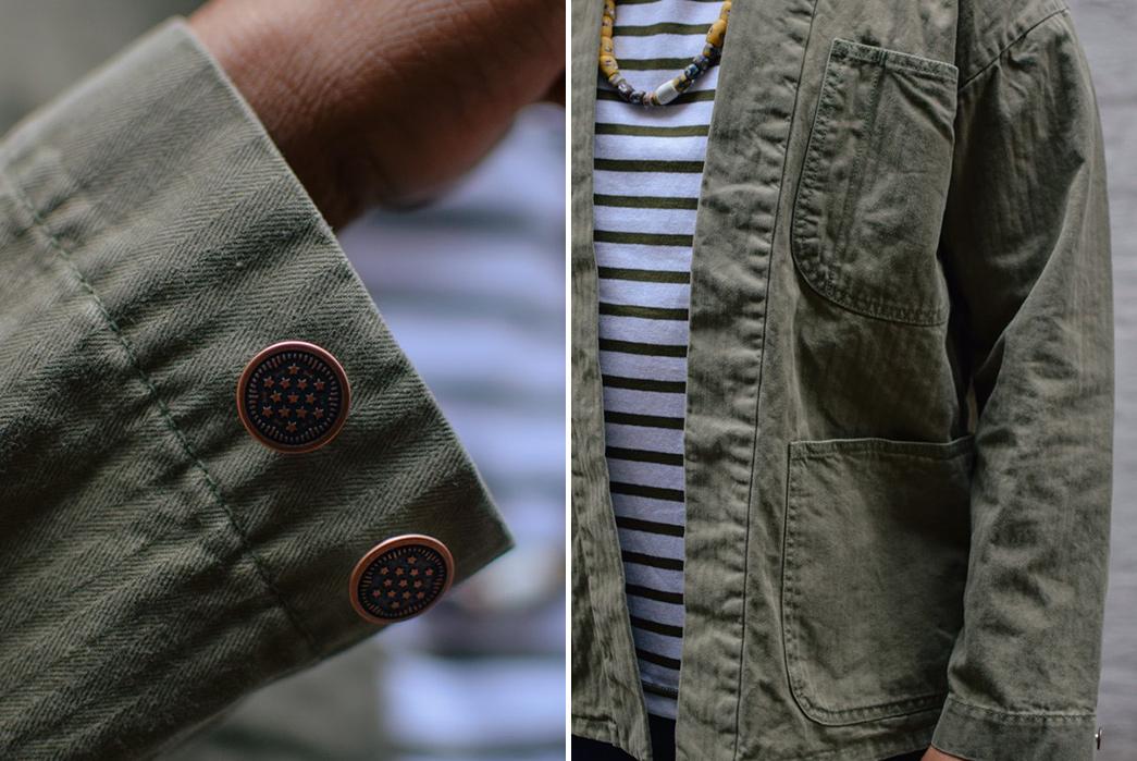 Soulive's Grand Haori Jacket Strips Down a P41 Jacket Into a Kimono