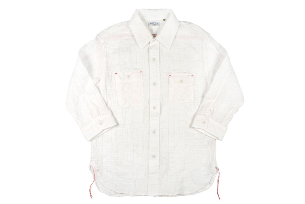 Sugar-Cane-Light-3of4-Sleeve-Gauze-Workshirt-front
