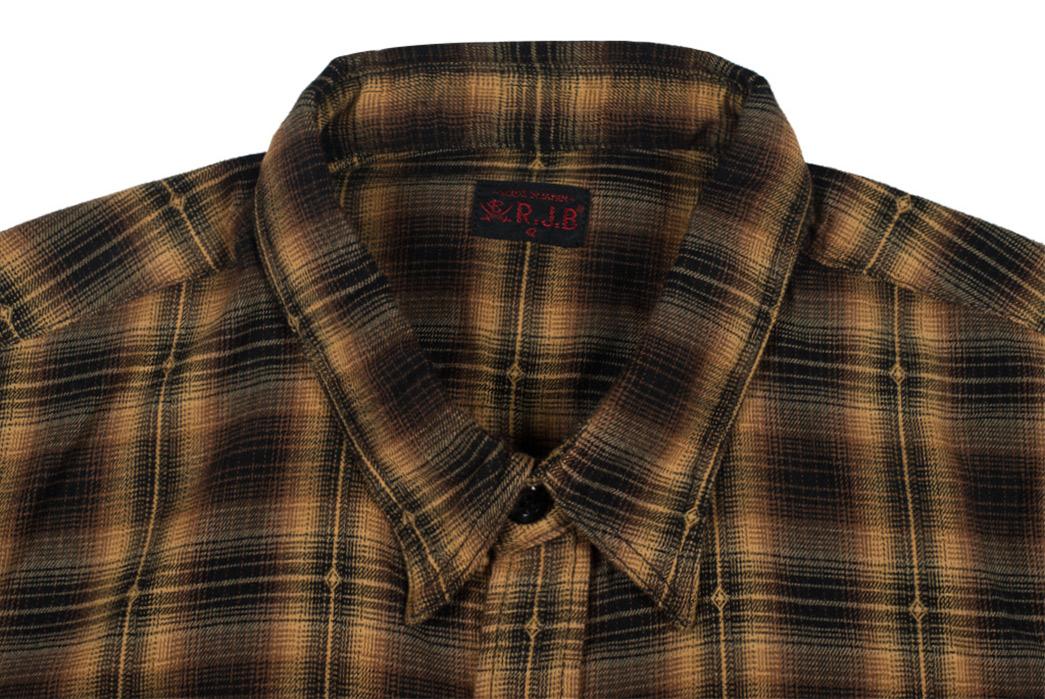 The-Flat-Head-RJB-Winter-Heat-Diamond-Ombre-Selvedge-Flannel-front-collar