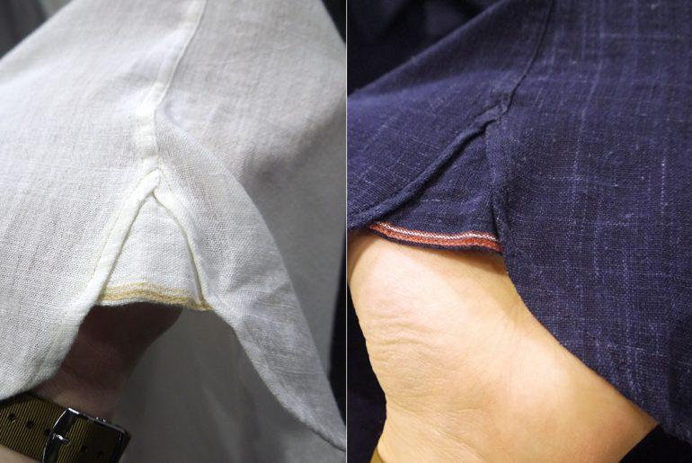 Umber-and-Ochre-selvedge-gusset
