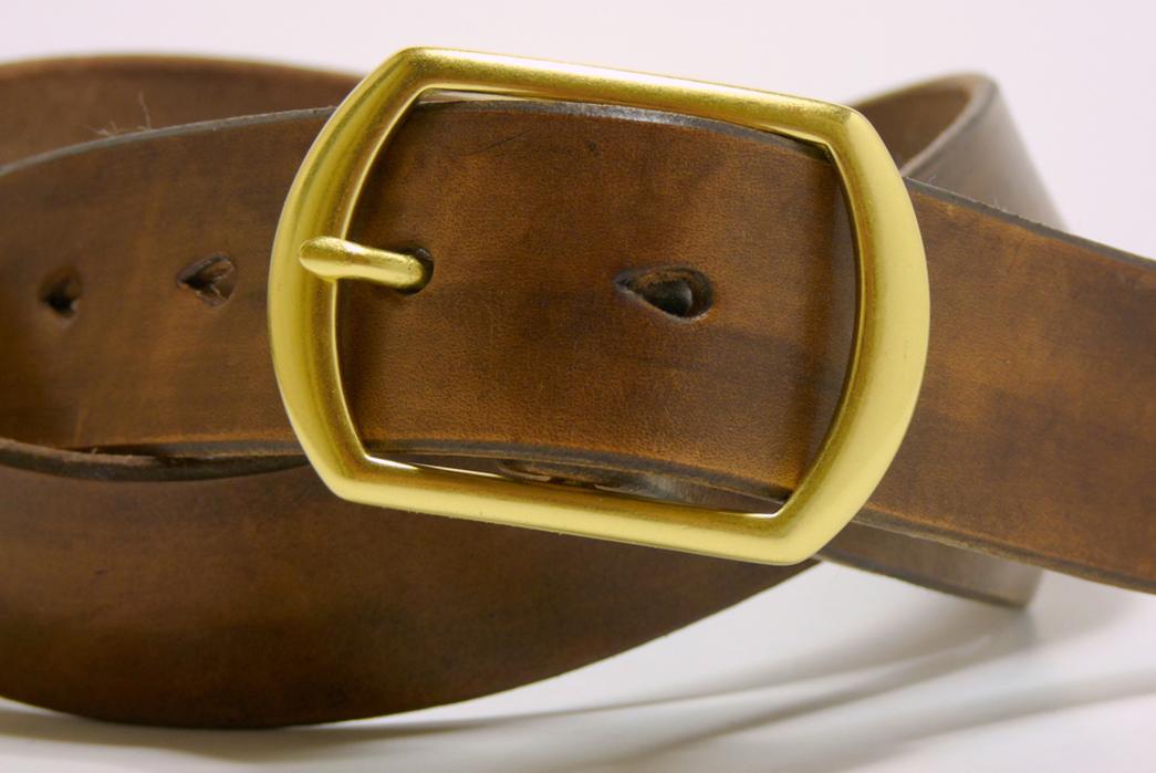 W.H.-Earl-Walnut-Leather-Belt