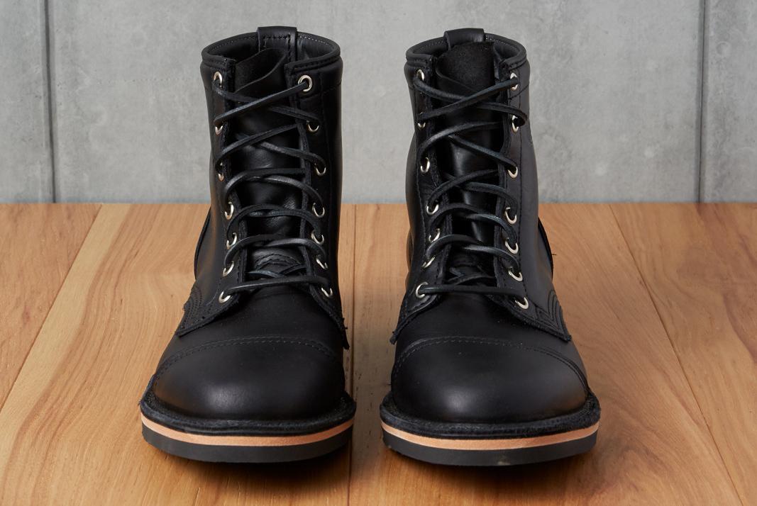 Wesco x Division Road Packstallion Black Tie Domain Boots
