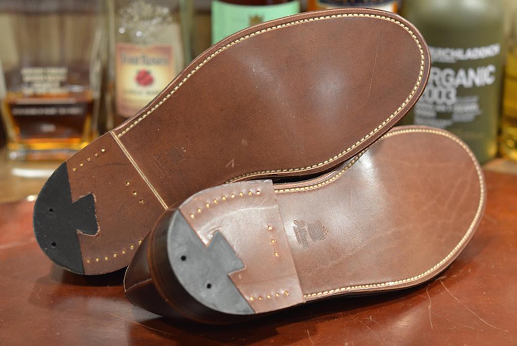 Alden-x-Leather-Soul-Brown-Chromexcel-Ultimate-Stomper-bottom