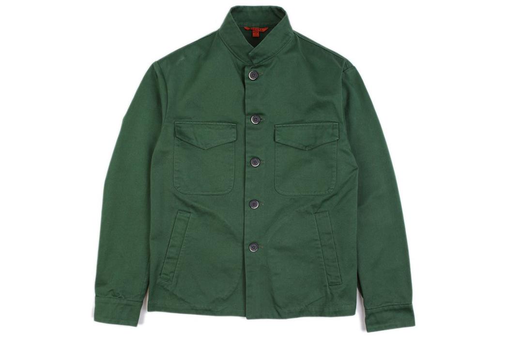 Barena-Overshirt-Dogan-Verde-front