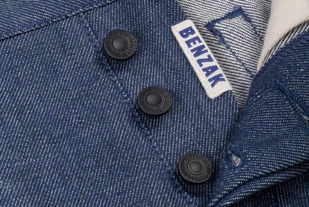Benzak-Denim-Developers-B-01-Slim-12oz.-Steel-Blue-Selvedge-front-buttons