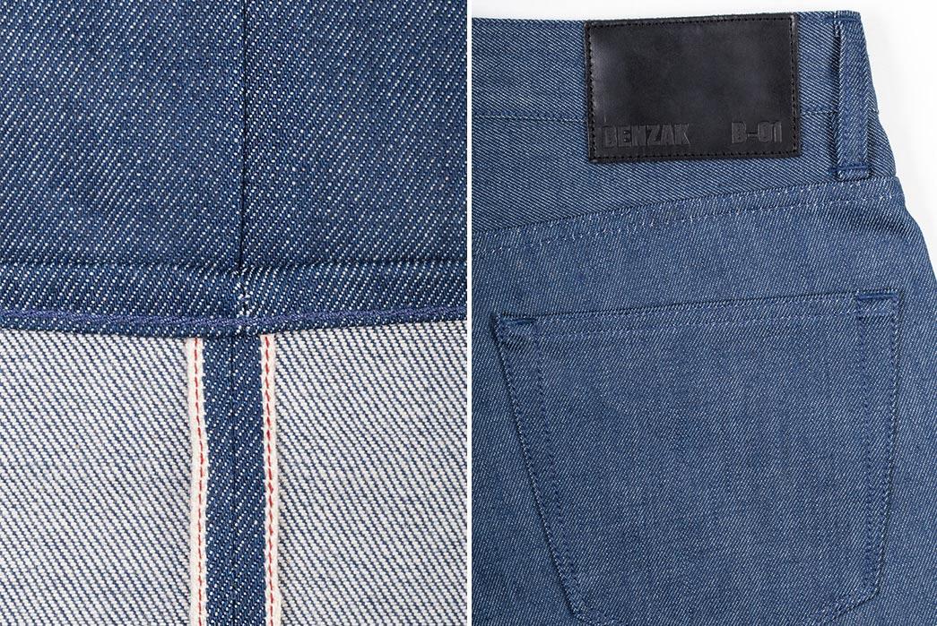 Benzak-Denim-Developers-B-01-Slim-12oz.-Steel-Blue-Selvedge-leg-selvedge-and-back-pocket