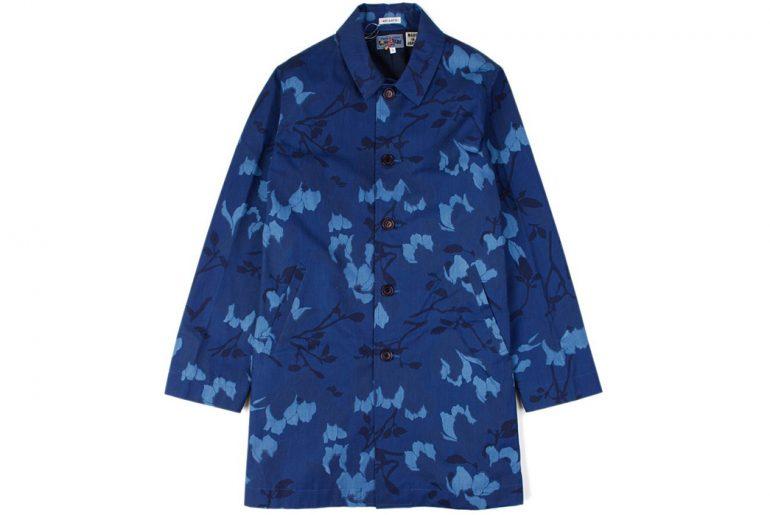 Blue-Blue-Japan-Indigo-Cotton-Weather-Magnolia-Single-Coat-front