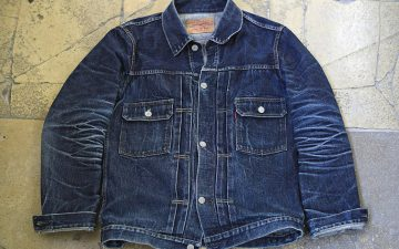 Fade-Friday---TCB-'50s-Type-II-Jacket-(3.5-Years,-12-Washes,-1-Soak)-front