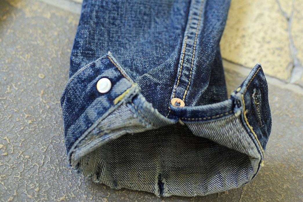Fade-Friday---TCB-'50s-Type-II-Jacket-(3.5-Years,-12-Washes,-1-Soak)-sleeve-inside