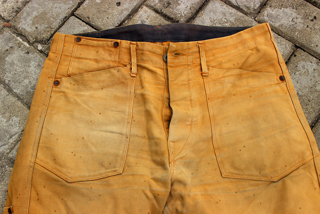 Fade-of-the-Day---Rising-Sun-Worker-Jeans-Brown-(2-Years,-1-Wash,-5-Soaks)-front-top
