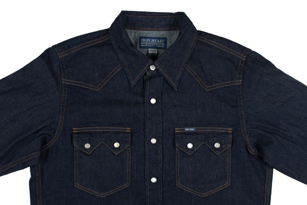 Iron-Heart-7oz.-Selvedge-Denim-Sawtooth-Shirt-front-detalied
