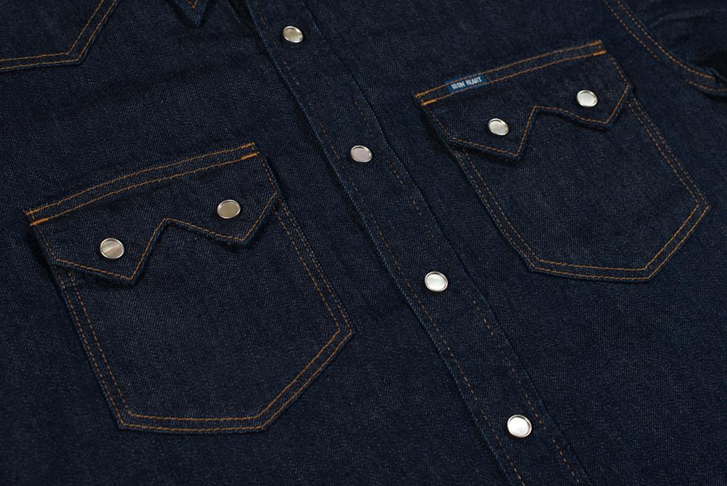 Iron-Heart-7oz.-Selvedge-Denim-Sawtooth-Shirt-front-pockets