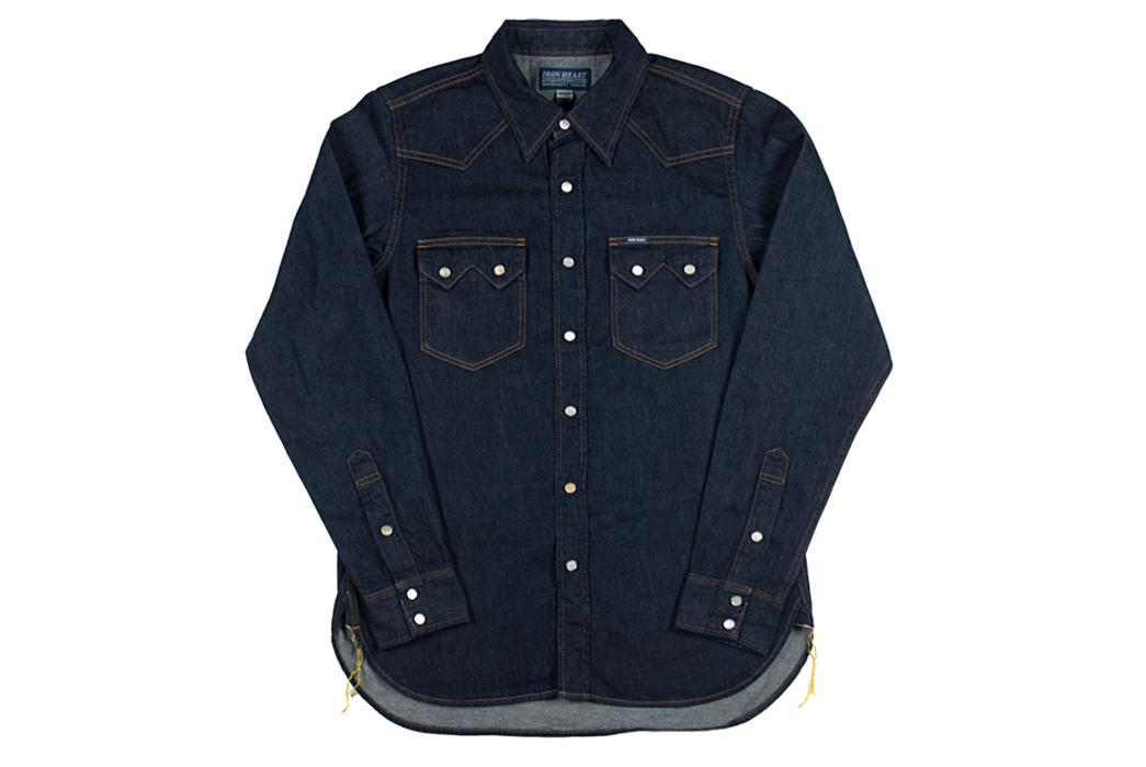 Iron-Heart-7oz.-Selvedge-Denim-Sawtooth-Shirt-front