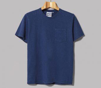 Jungmaven-Dyes-Their-10oz.-Ten-Year-Pocket-Tee-in-Indigo-front