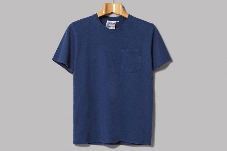 Jungmaven-Dyes-Their-10oz.-Ten-Year-Pocket-Tee-in-Indigo-front</a>