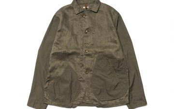 Kapital-Linen-Chino-Cloth-and-Gabardine-Ringoman-Coverall-Jacket-front