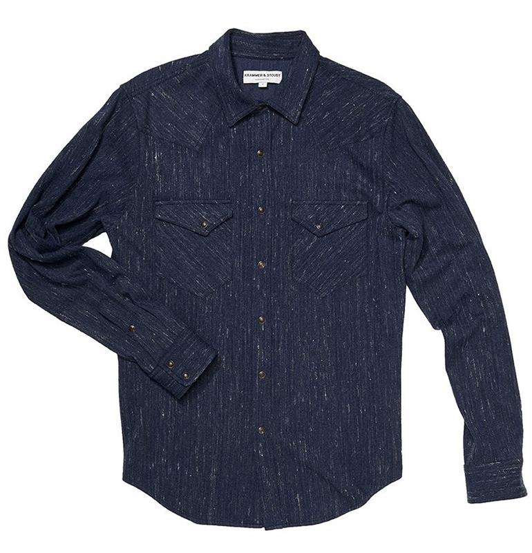 Krammer-Stoudt-Navy-Western-Shirt