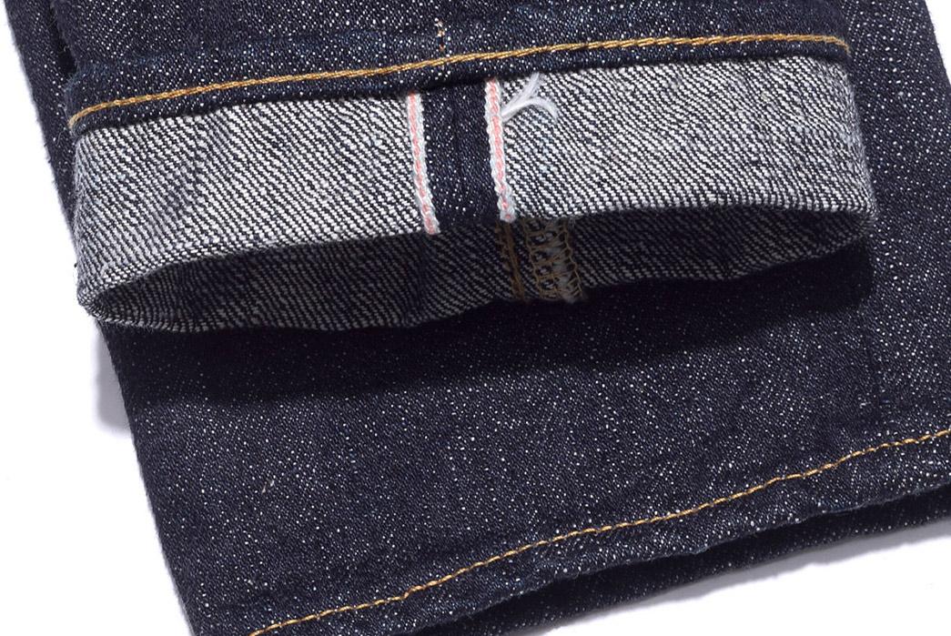Oni-x-Blue-in-Green-ONI-612XXBIG-16.5oz-Relaxed-Slim-Taper-Ltd-Ed.-Jeans-legs-selvedge