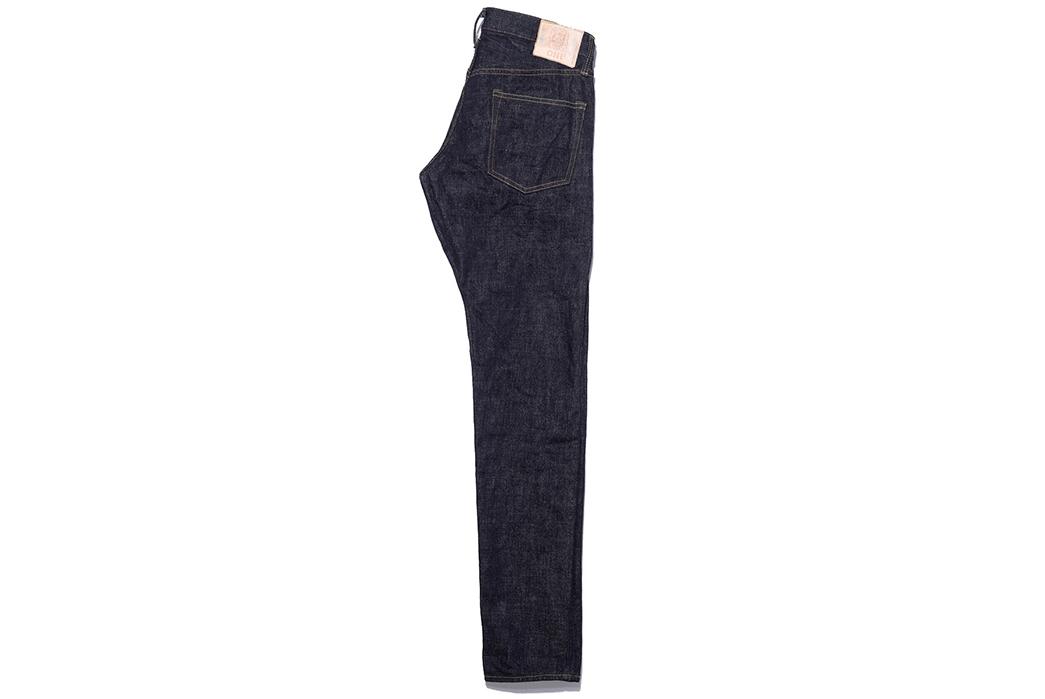 Oni-x-Blue-in-Green-ONI-612XXBIG-16.5oz-Relaxed-Slim-Taper-Ltd-Ed.-Jeans-side